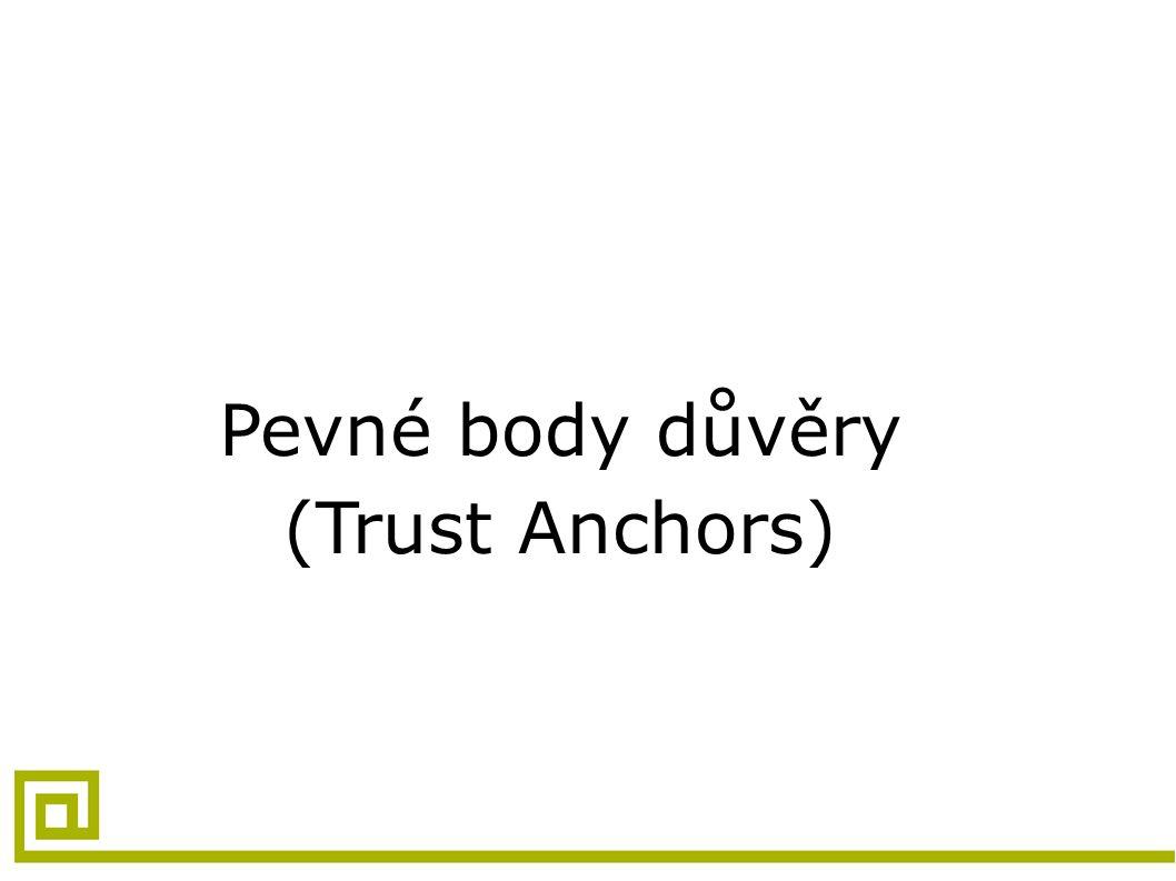 Pevné body důvěry (Trust Anchors)