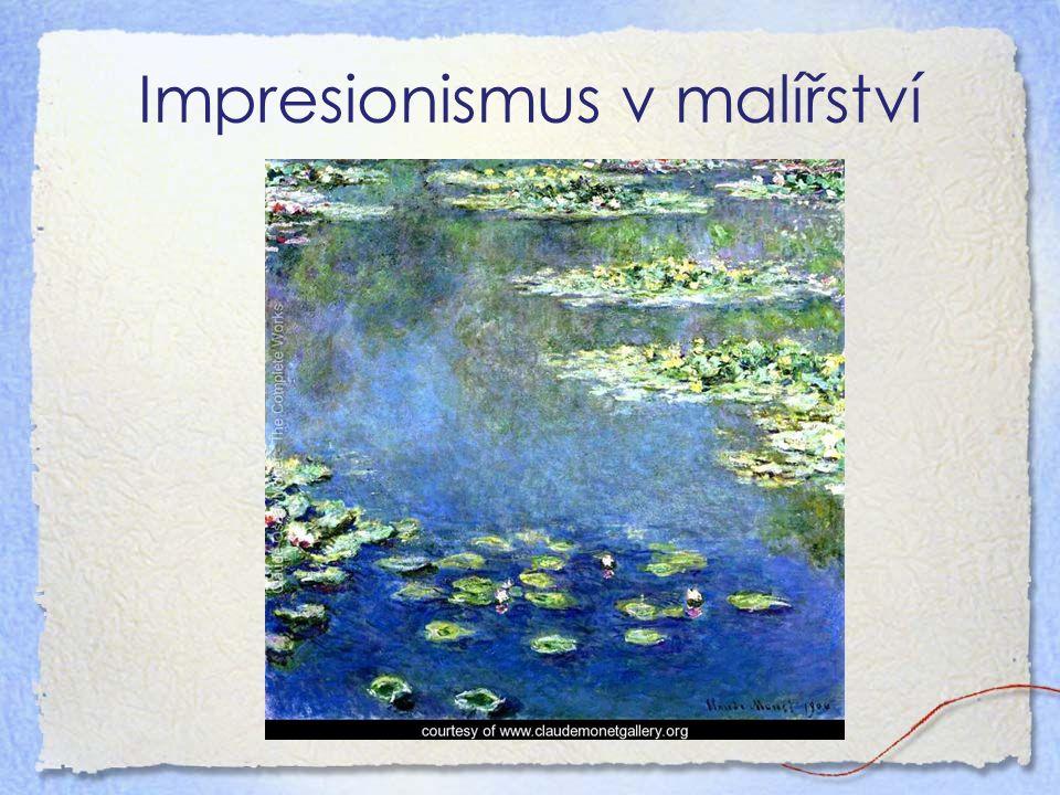 Impresionismus v malířství