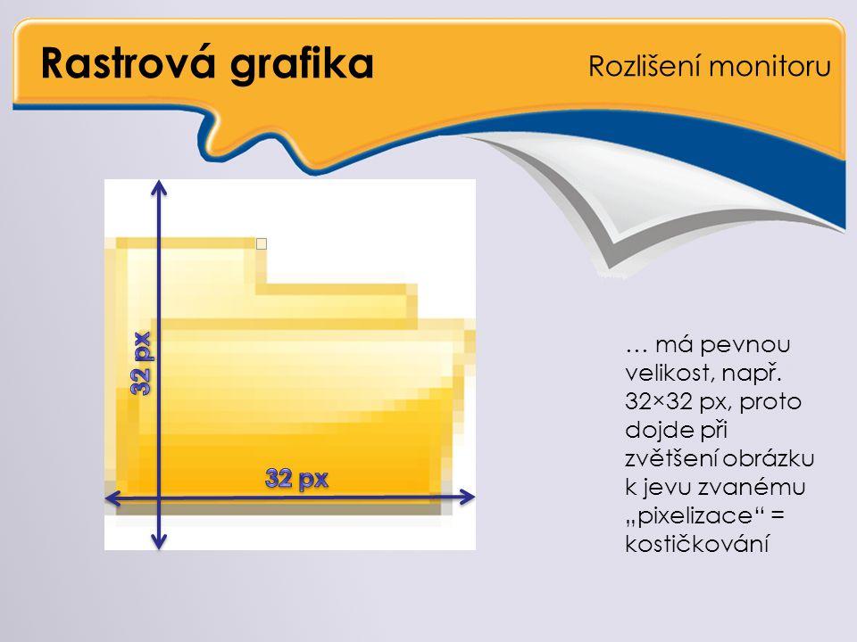 Vektorová grafika Porovnání
