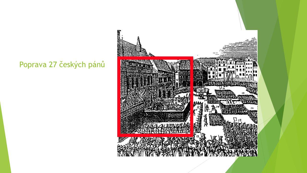Poprava 27 českých pánů