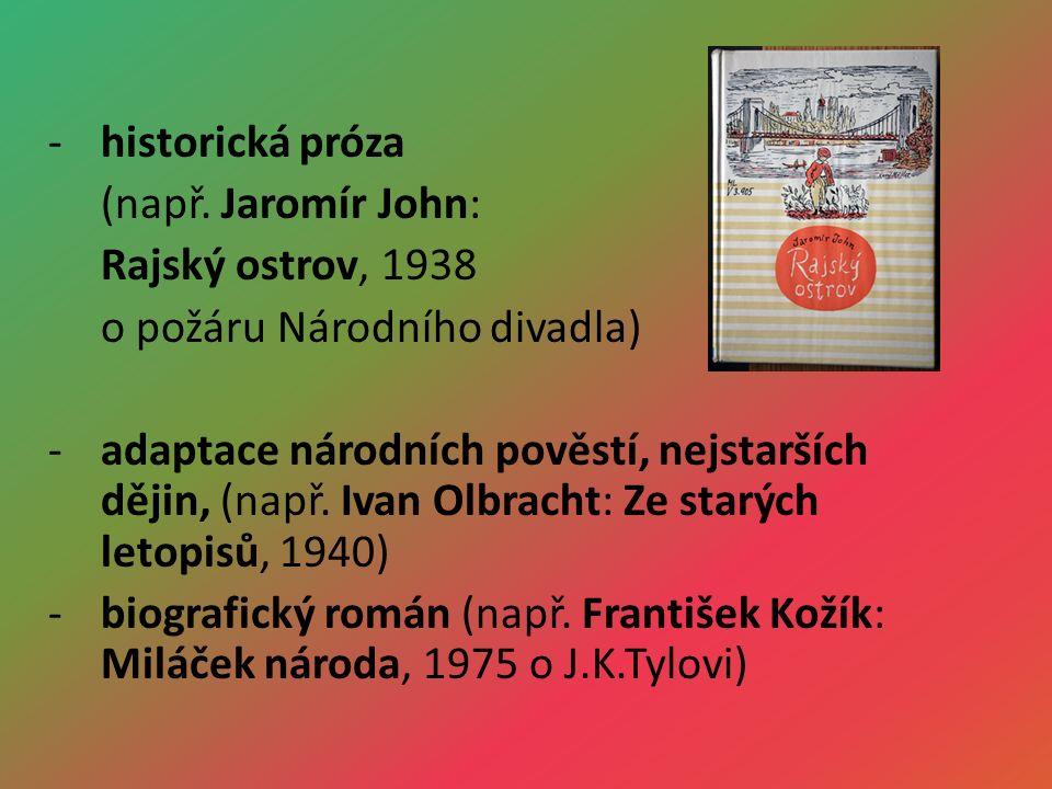 -historická próza (např.