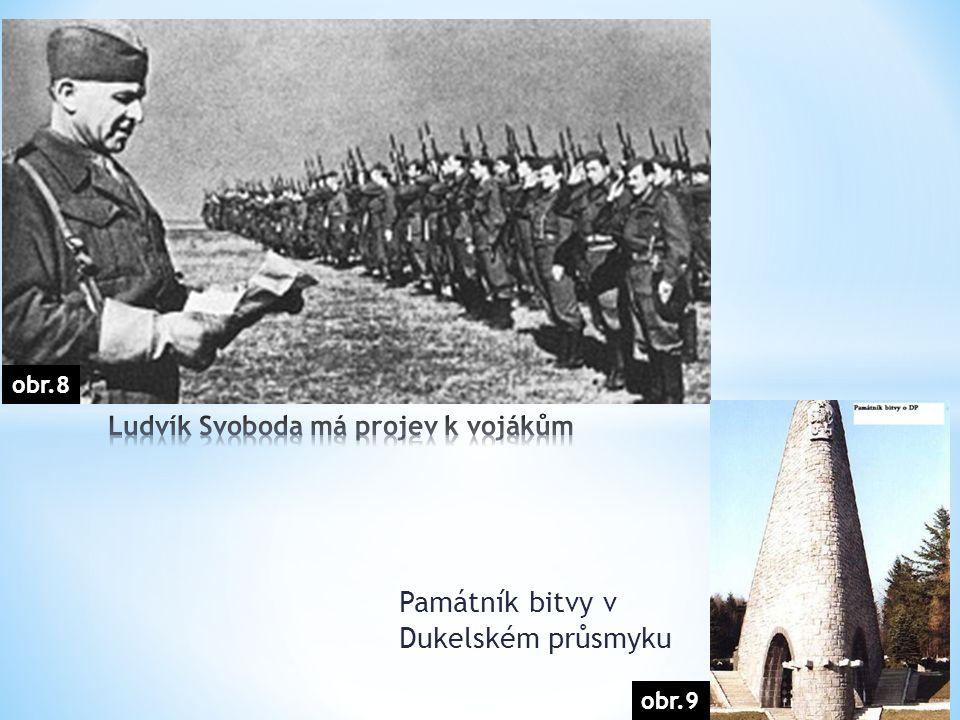 obr.9 Památník bitvy v Dukelském průsmyku obr.8