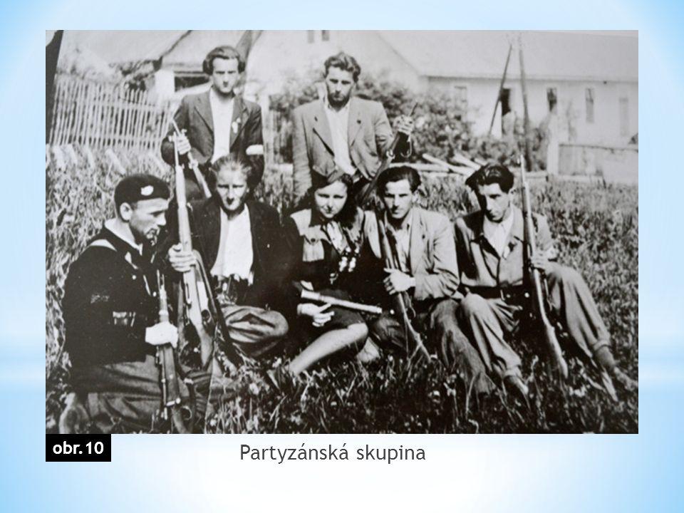 Partyzánská skupina obr.10