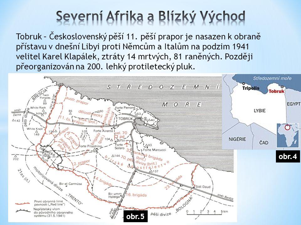 Tobruk – Československý pěší 11.