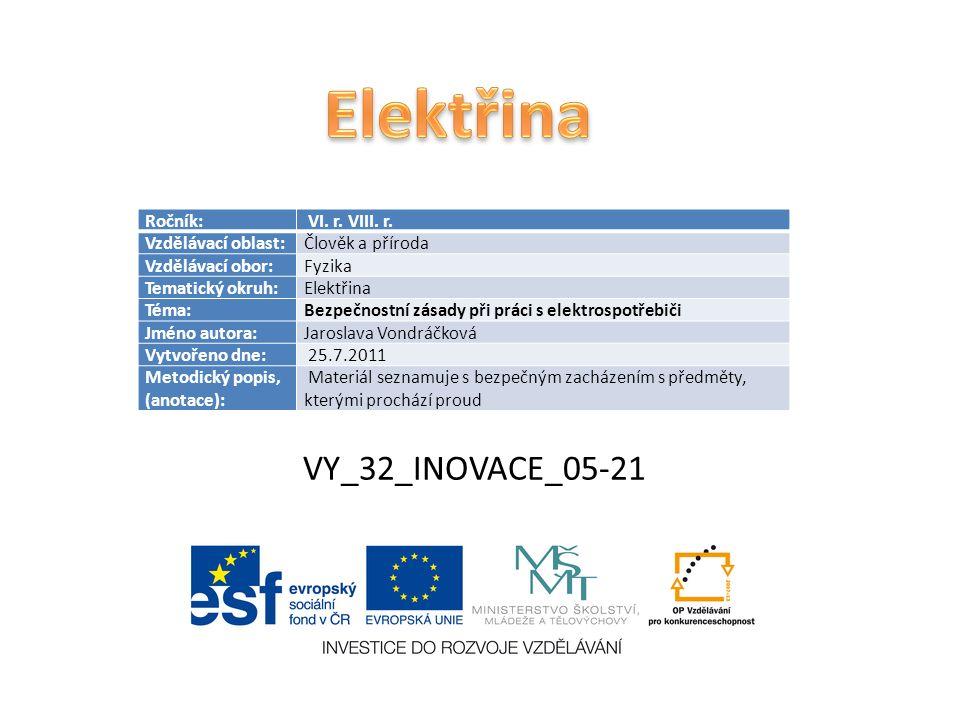VY_32_INOVACE_05-21 Ročník: VI. r. VIII. r.