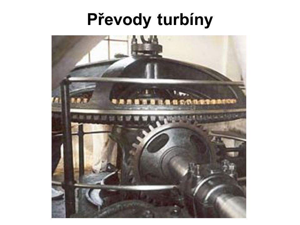 Převody turbíny