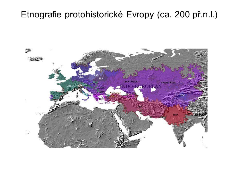 Etnografie protohistorické Evropy (ca. 200 př.n.l.)
