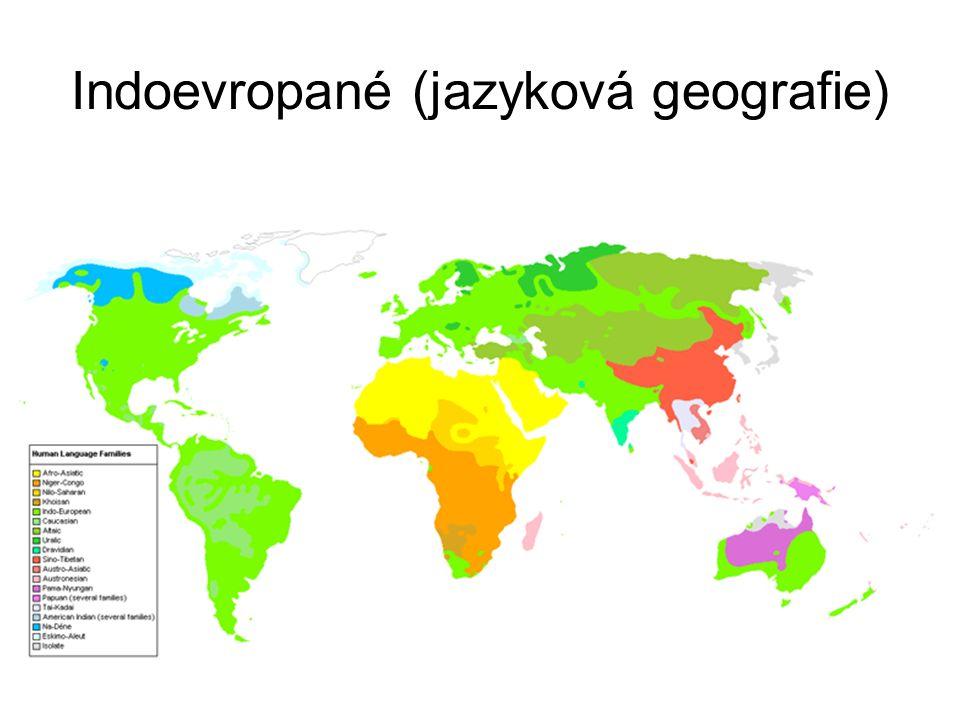 Indoevropané (přibližná jazyková geografie ca. 200 př.n.l.)