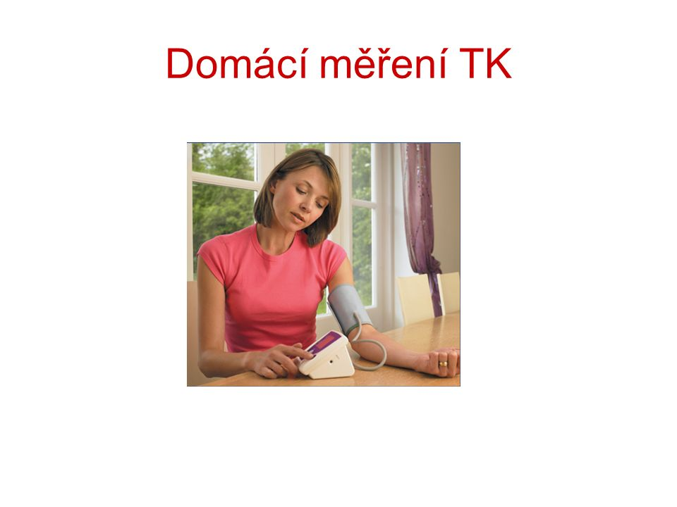 Domácí měření TK