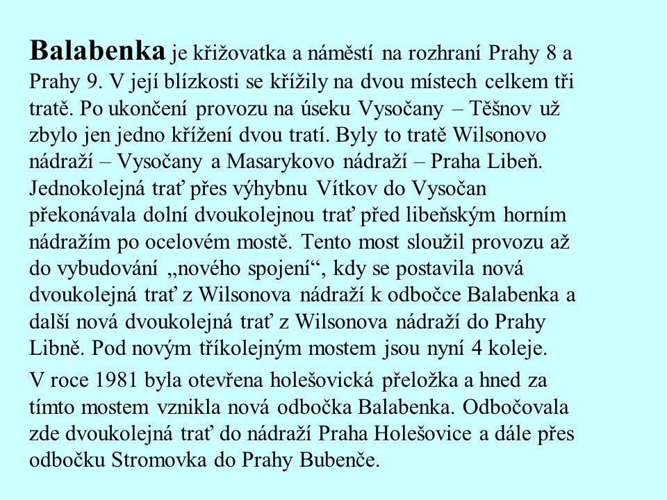 Balabenka je křižovatka a náměstí na rozhraní Prahy 8 a Prahy 9.