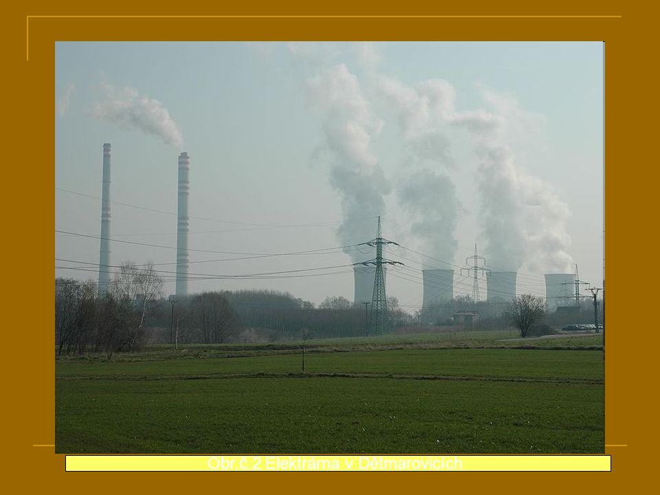 Obr.č.2 Elektrárna v Dětmarovicích
