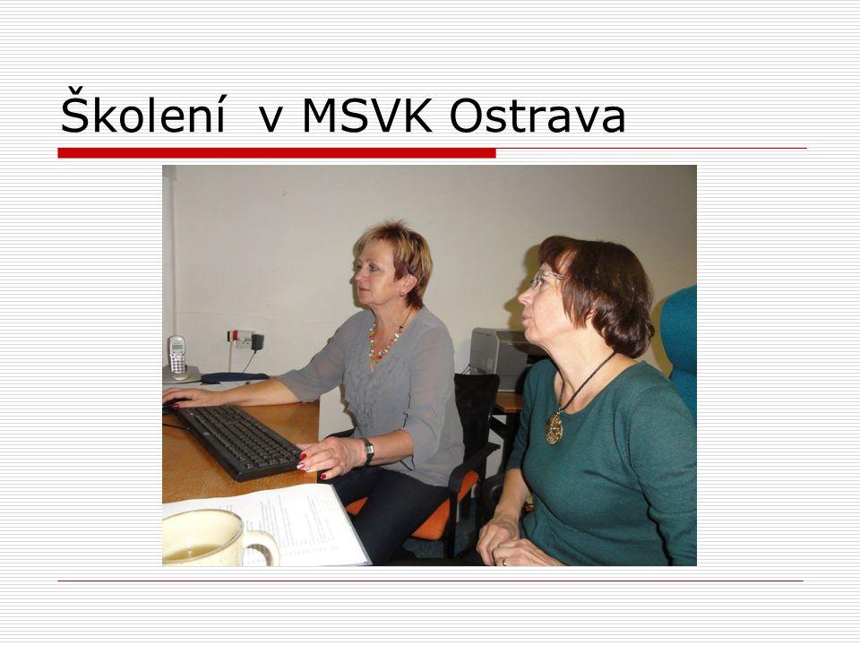 Školení v MSVK Ostrava