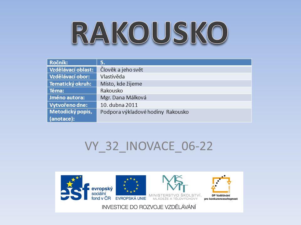 VY_32_INOVACE_06-22 Ročník: 5.