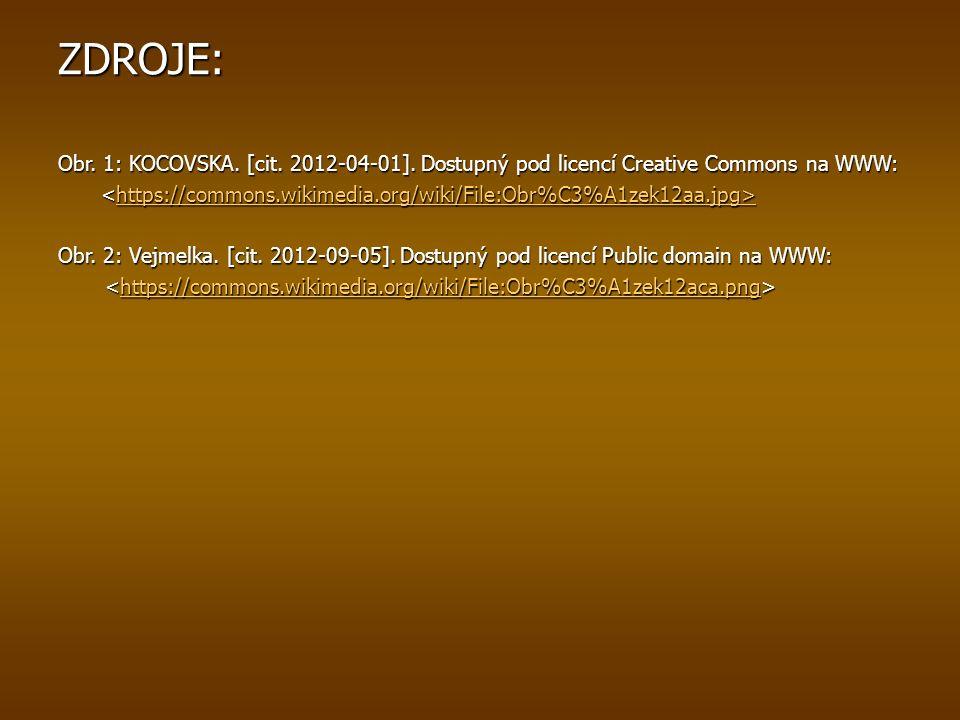 ZDROJE: Obr.1: KOCOVSKA. [cit. 2012-04-01].