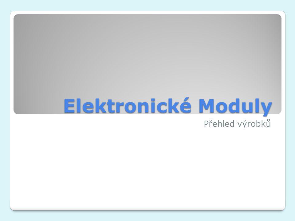 Elektronické Moduly Přehled výrobků