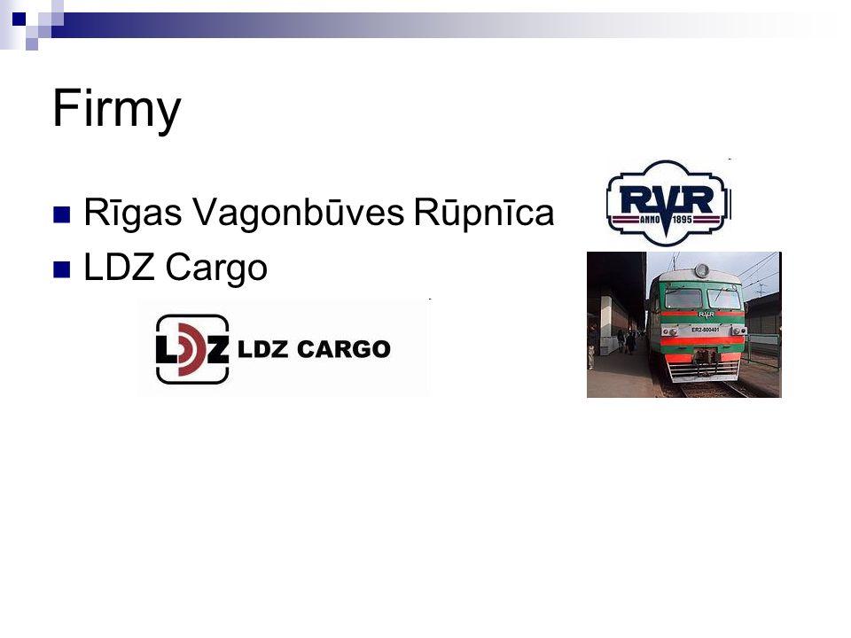 Firmy Rīgas Vagonbūves Rūpnīca LDZ Cargo