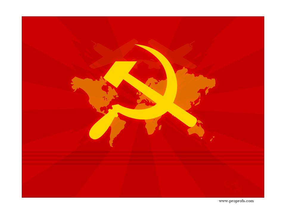 """KOMUNISMUS (z latinského communis = """"společný ) je především politická ideologie, hlásající a požadující společné vlastnictví a odmítající třídní rozdíly mezi lidmi."""