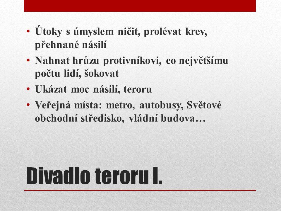 Divadlo teroru I.