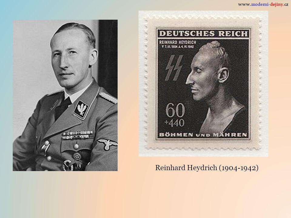 Reinhard Heydrich (1904-1942) www.moderni-dejiny.cz