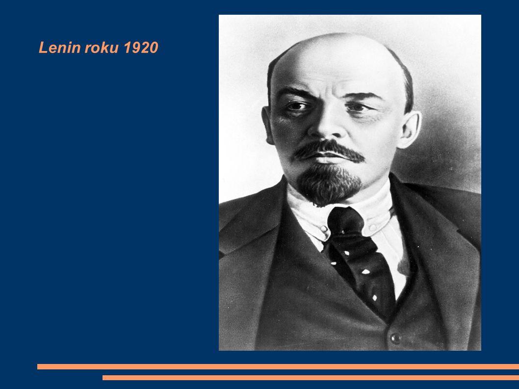 Lenin roku 1920