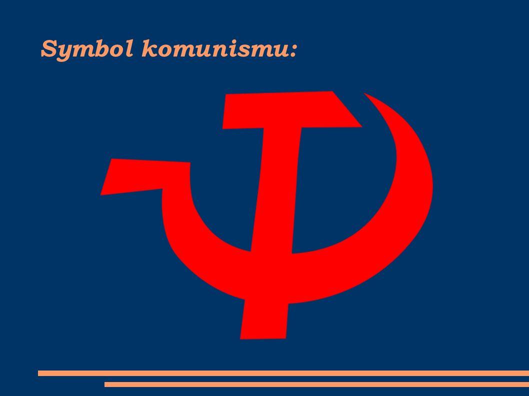 Symbol komunismu: