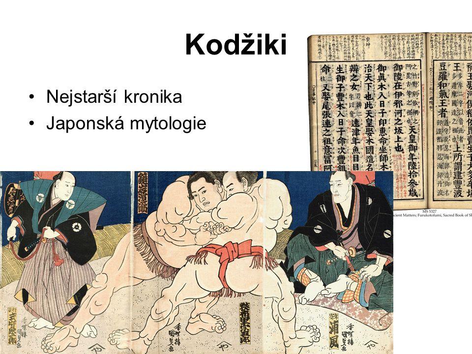 Kodžiki Nejstarší kronika Japonská mytologie