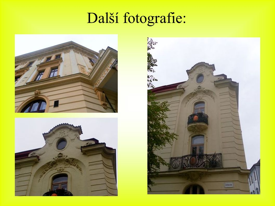 Další fotografie: