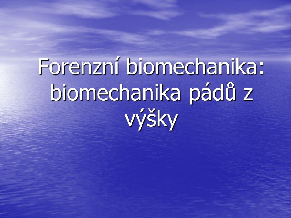 Biomechanika je věda, která se zabývá mechanickou strukturou, chováním a vlastnostmi živých organismů a jejich částí a mechanickými interakcemi mezi nimi a vnějším prostředím.