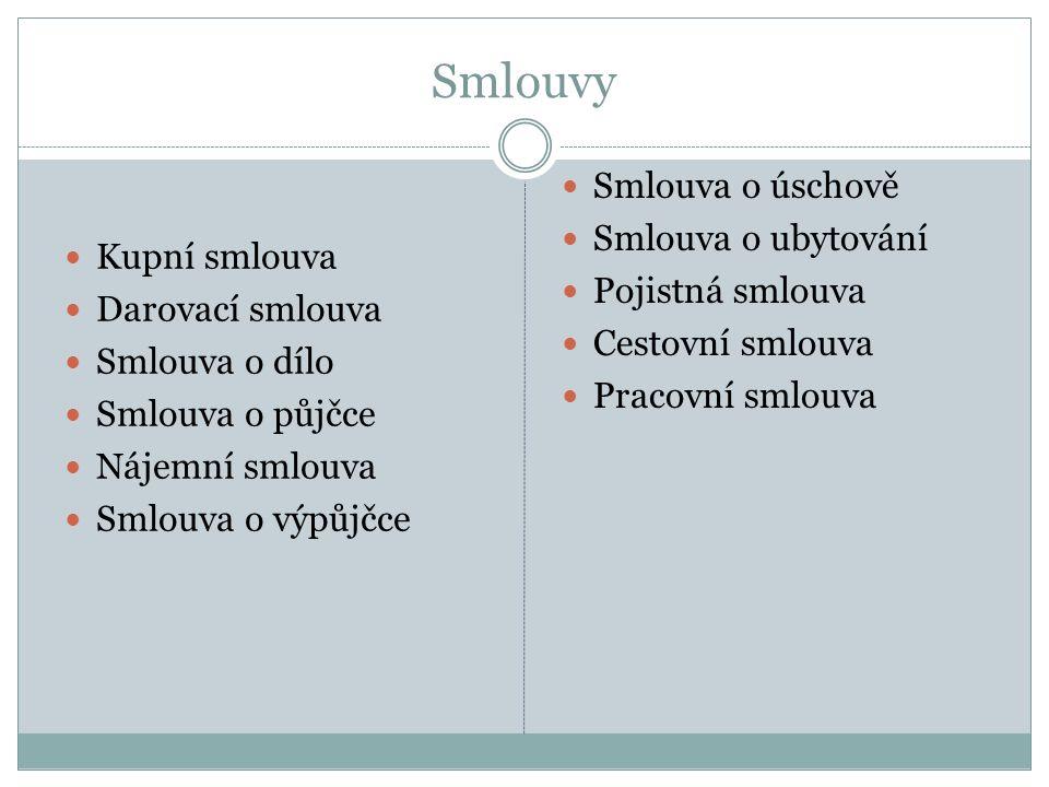 Náležitosti kupní smlouvy: www.euroekonom.cz/vzor-kupni-smlouva.php