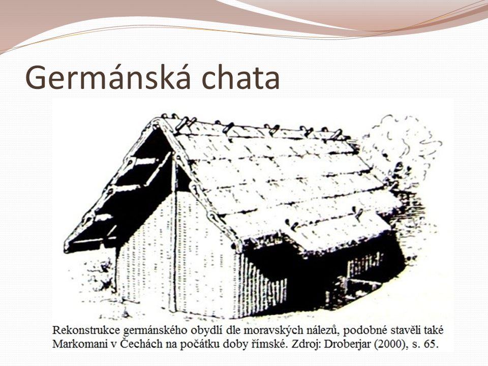 Germánská chata
