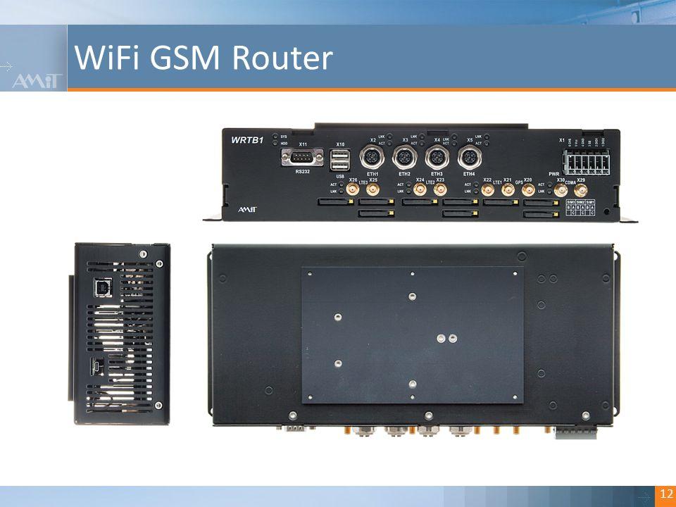 Kliknutím lze upravit styl. WiFi GSM Router 12