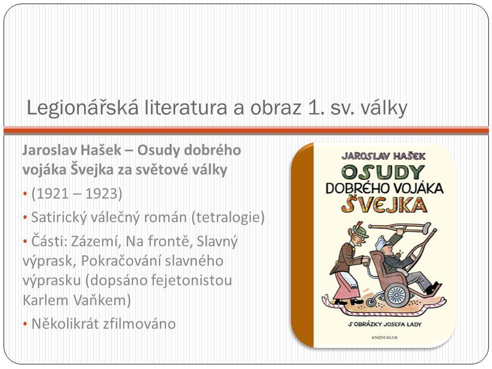 Legionářská literatura a obraz 1. sv.