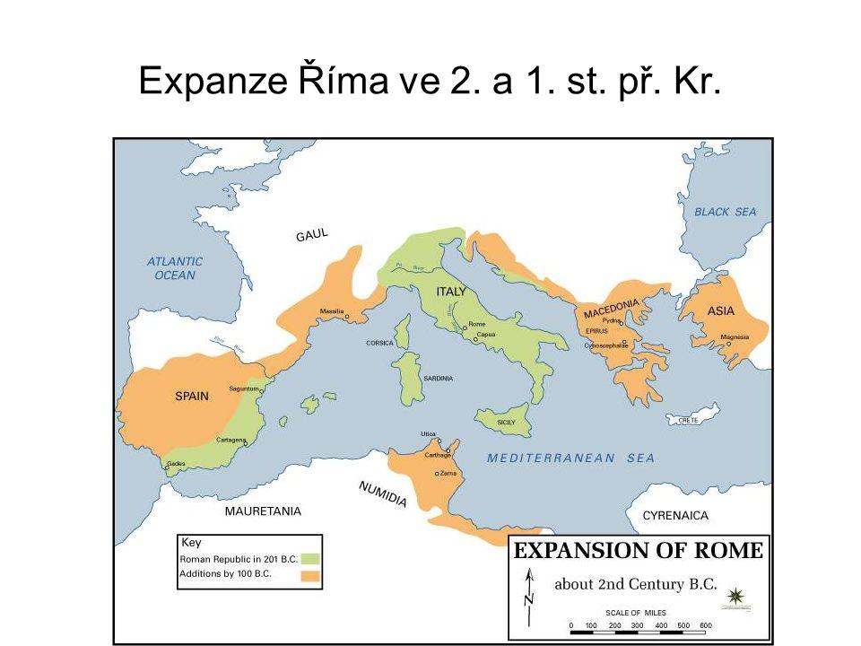 Expanze Říma ve 2. a 1. st. př. Kr.