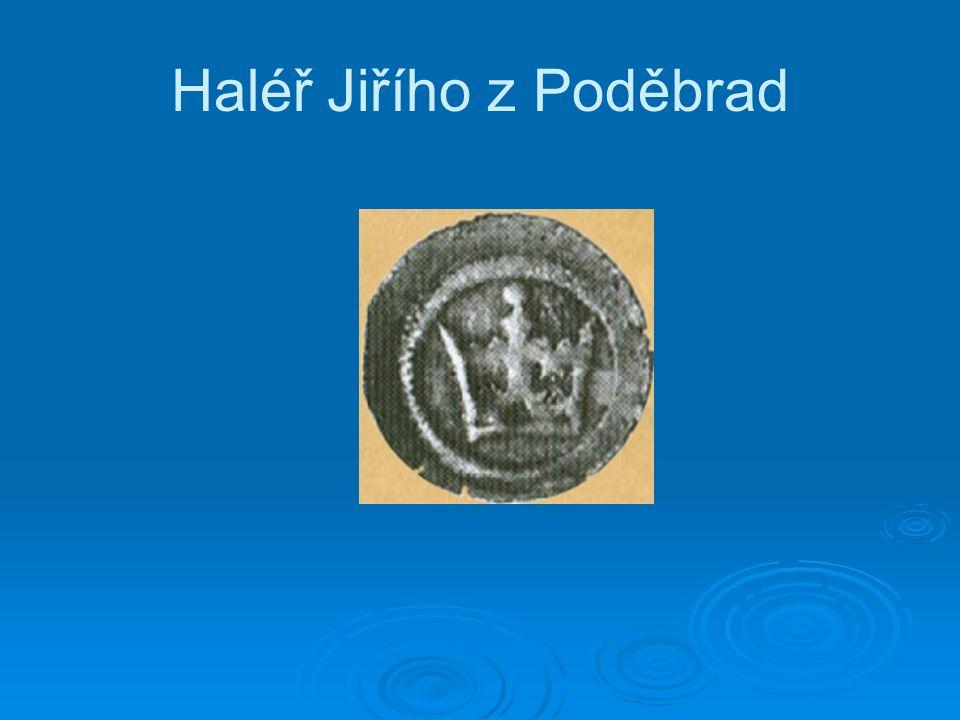 Haléř Jiřího z Poděbrad