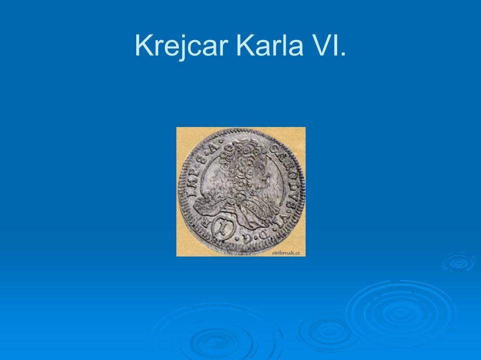 Krejcar Karla VI.