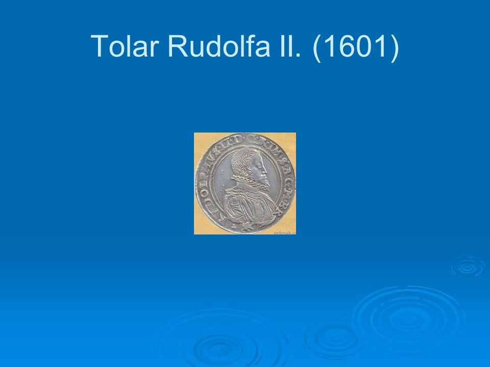 Tolar Rudolfa II. (1601)