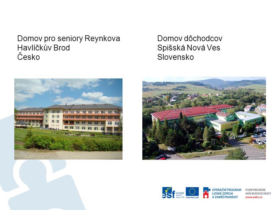 Domov pro seniory ReynkovaDomov dôchodcov Havlíčkův BrodSpišská Nová Ves ČeskoSlovensko
