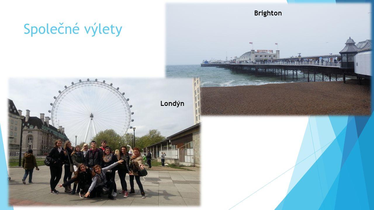 Společné výlety Brighton Londýn