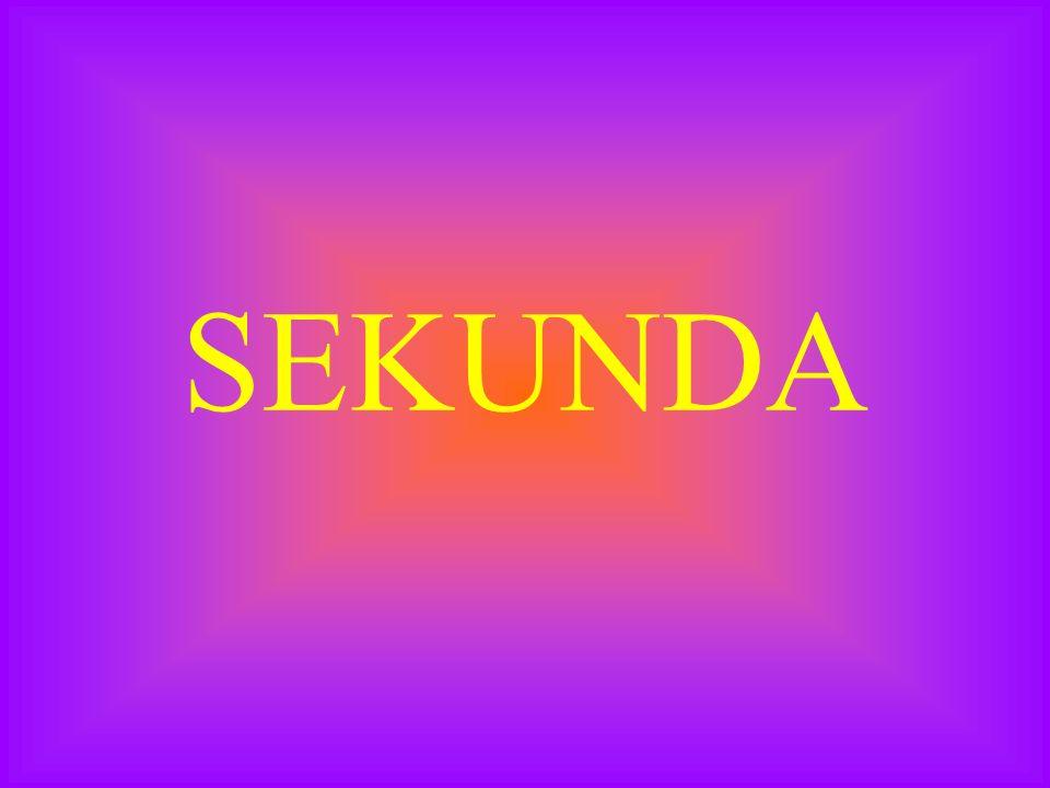 SEKUNDA