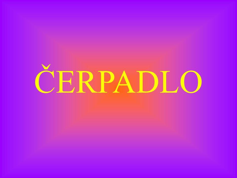 ČERPADLO