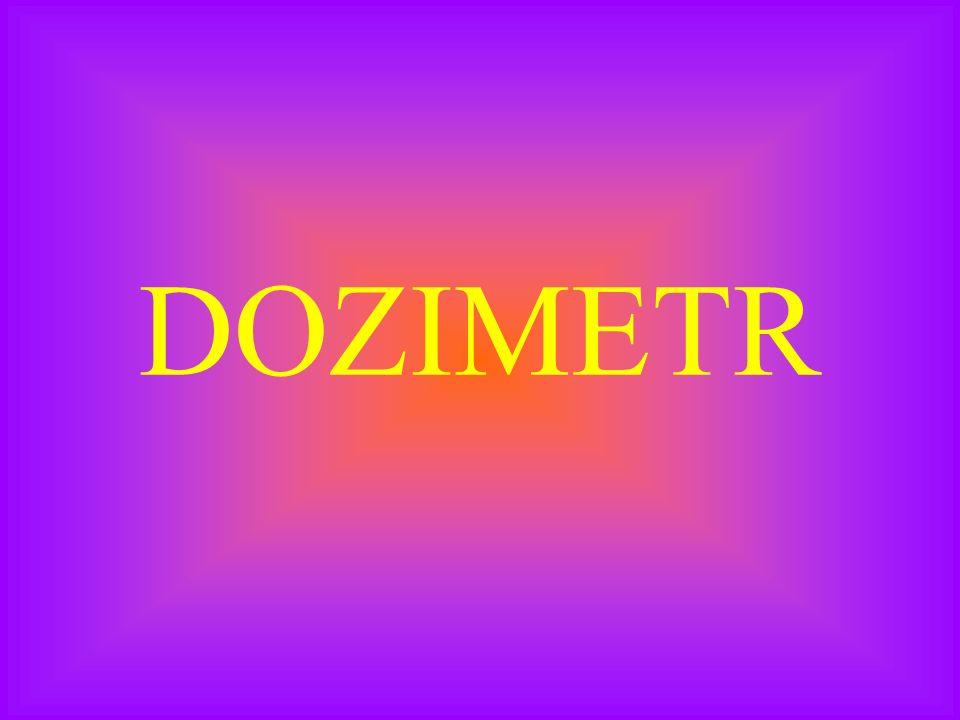DOZIMETR
