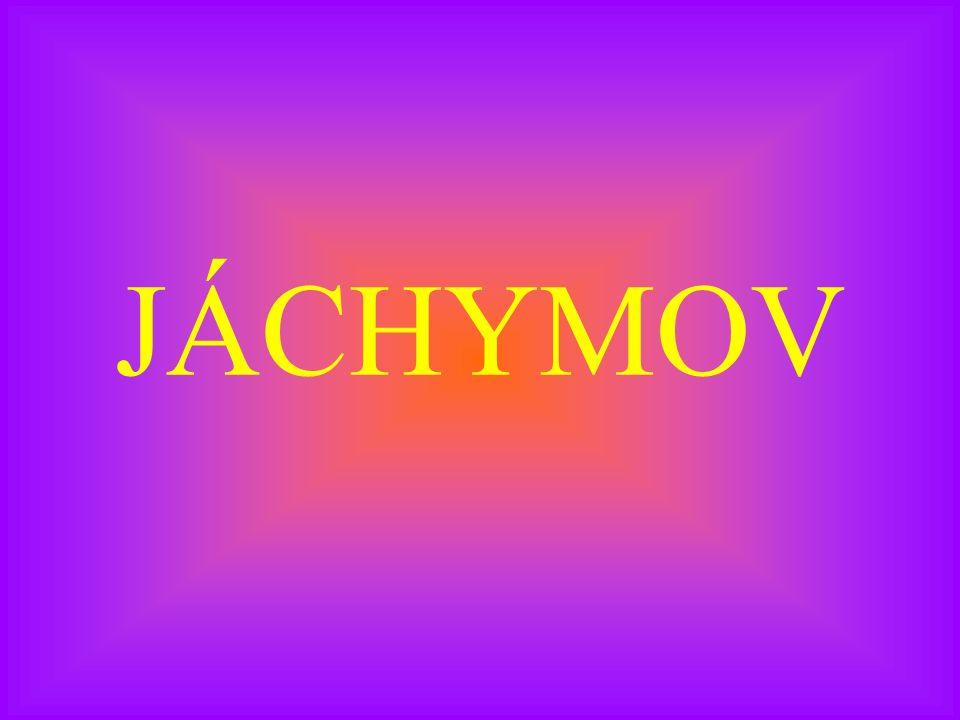 JÁCHYMOV