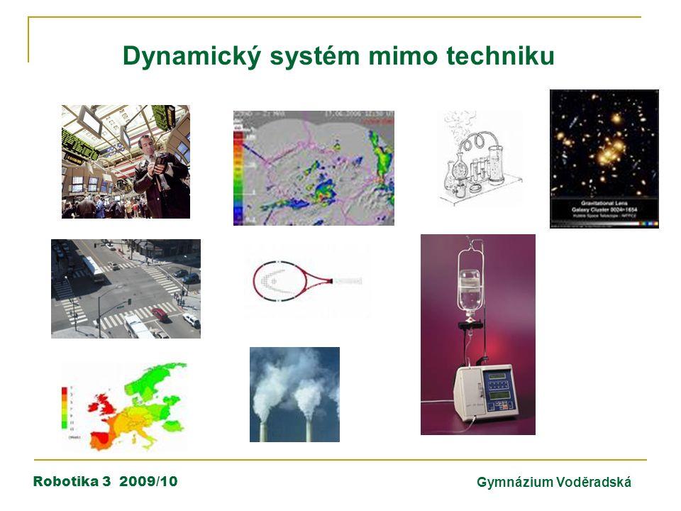 Robotika 3 2009/10Gymnázium Voděradská Dynamický systém mimo techniku