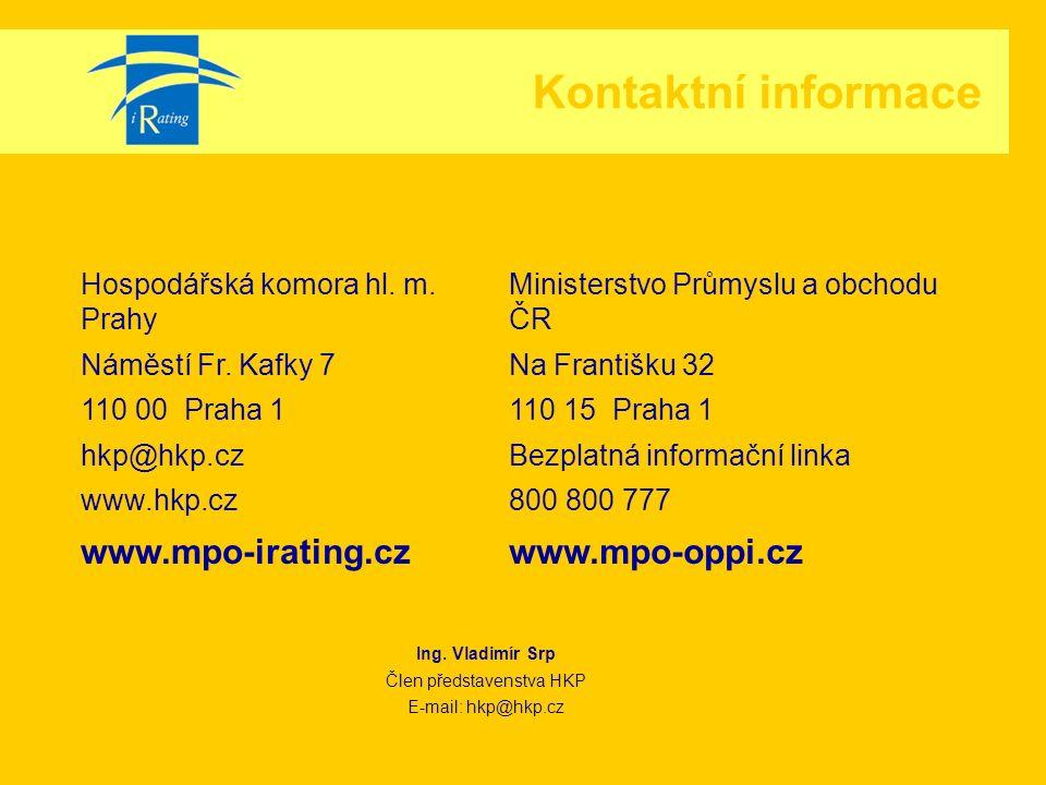 Kontaktní informace Hospodářská komora hl.m. Prahy Náměstí Fr.