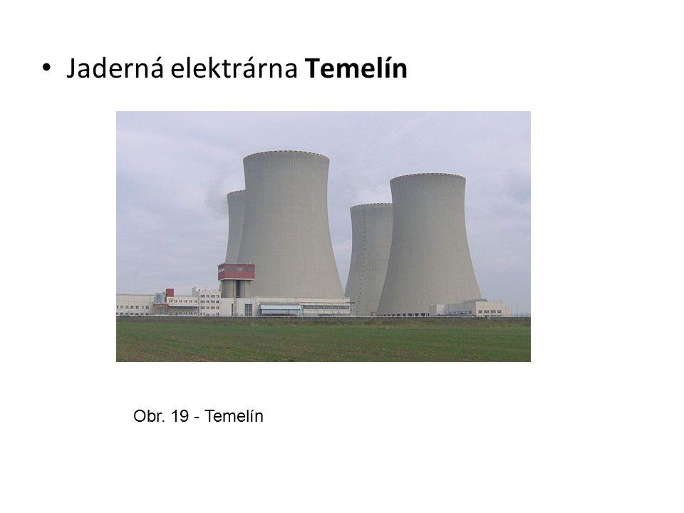 Jaderná elektrárna Temelín Obr. 19 - Temelín