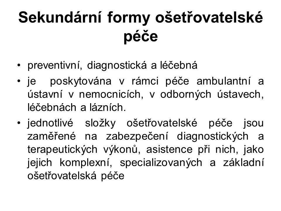 Sledování kvality péče v ČR Metodické opatření č.