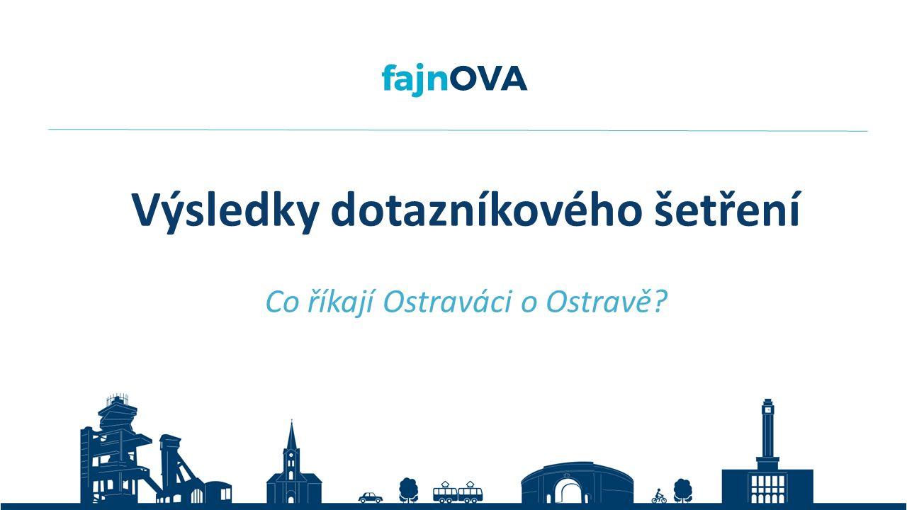 Výsledky dotazníkového šetření Co říkají Ostraváci o Ostravě