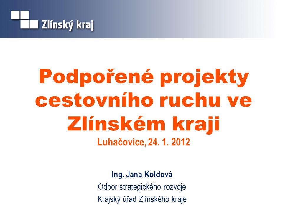 Podpořené projekty cestovního ruchu ve Zlínském kraji Luhačovice, 24.