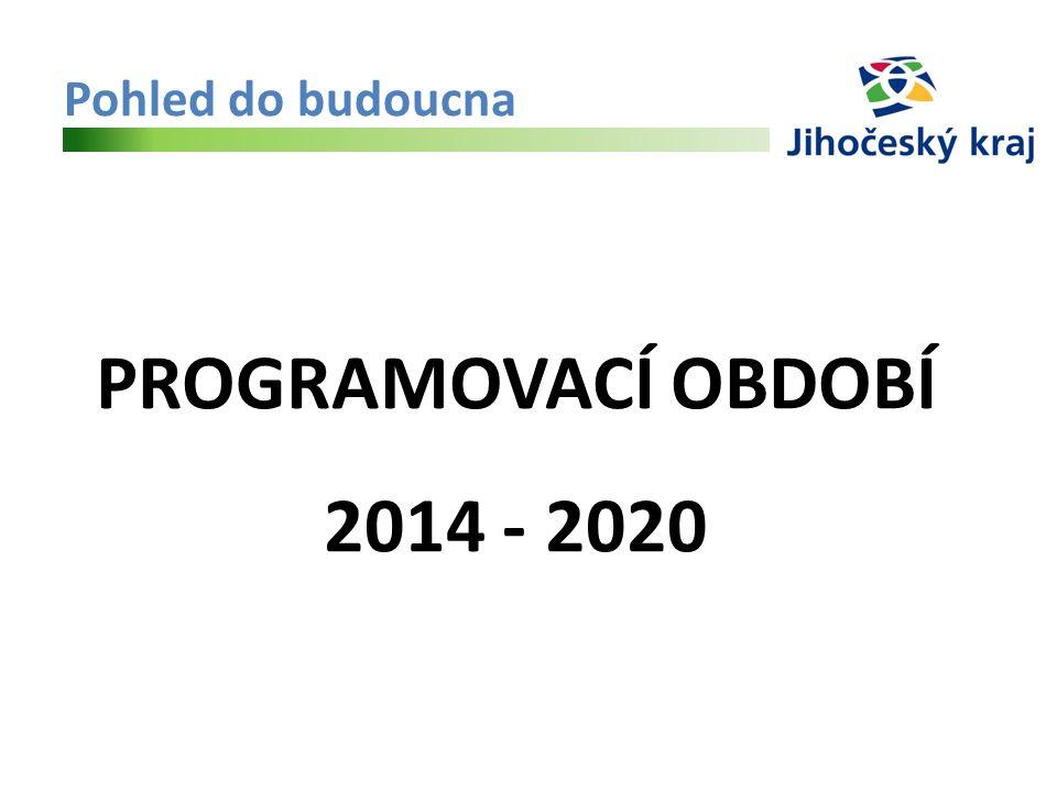 Pohled do budoucna PROGRAMOVACÍ OBDOBÍ 2014 - 2020