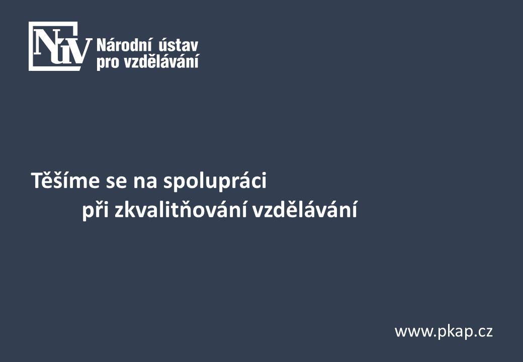 www.pkap.cz Těšíme se na spolupráci při zkvalitňování vzdělávání